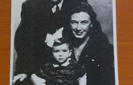 Леда Милева с първия си съпруг